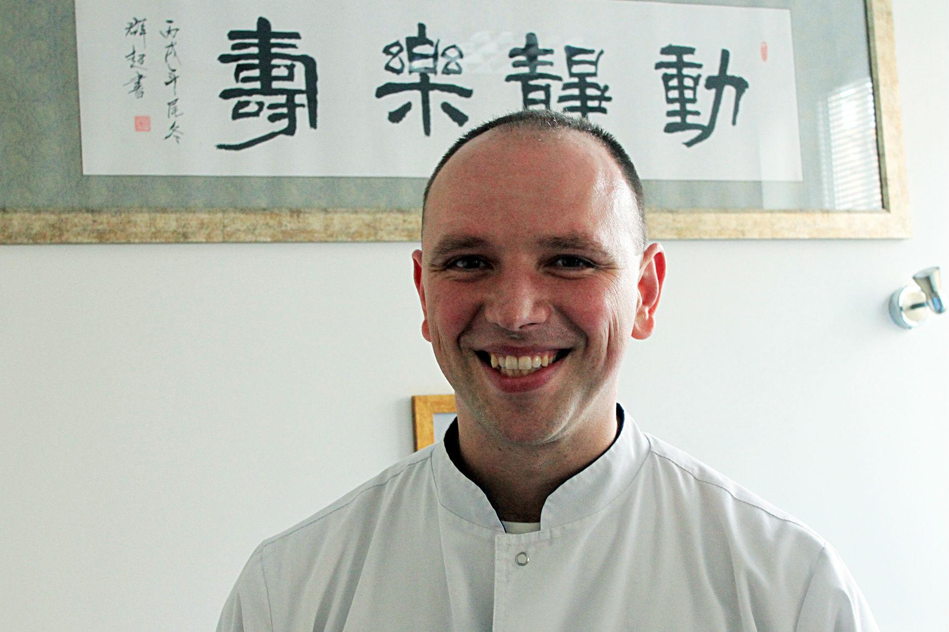 中国/立陶宛的中医诊所 针灸疗法是中国传统医学的一个重要组成部分,...